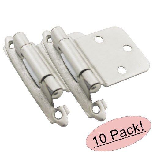 Cosmas 17630 Sn Satin Nickel Cabinet Hardware Hinges