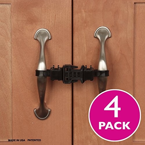 Kiscords Baby Safety Cabinet Locks For Handles Child