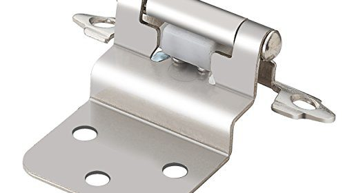 south main hardware 25pair pack sh7114sn25 modern cabinet hinge inset 38u2033 satin nickel selfclosing action overlay 38 inch includes all mounting