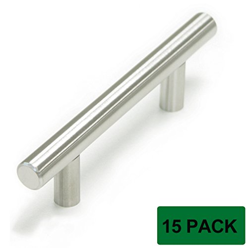 Probrico stainless steel modern cabinet drawer handle for 3 kitchen cabinet handles