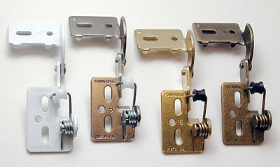 1 2 Overlay Self Closing Knife Hinge For 5 8 Thick