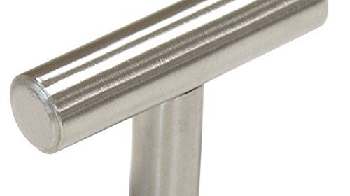 30 pack 2 inch length stainless steel kitchen cabinet door handles and pulls single hole cabinet knobs 50mm brushed nickel steel