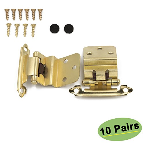 Kitchen Cabinet Hardware Location: Kitchen Cabinet Hardware Hinges Inset 10 Pairs(20Pack